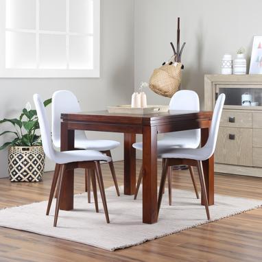 Blay mesa extensible 90 180 gonz lez muebles for Banak mesas comedor