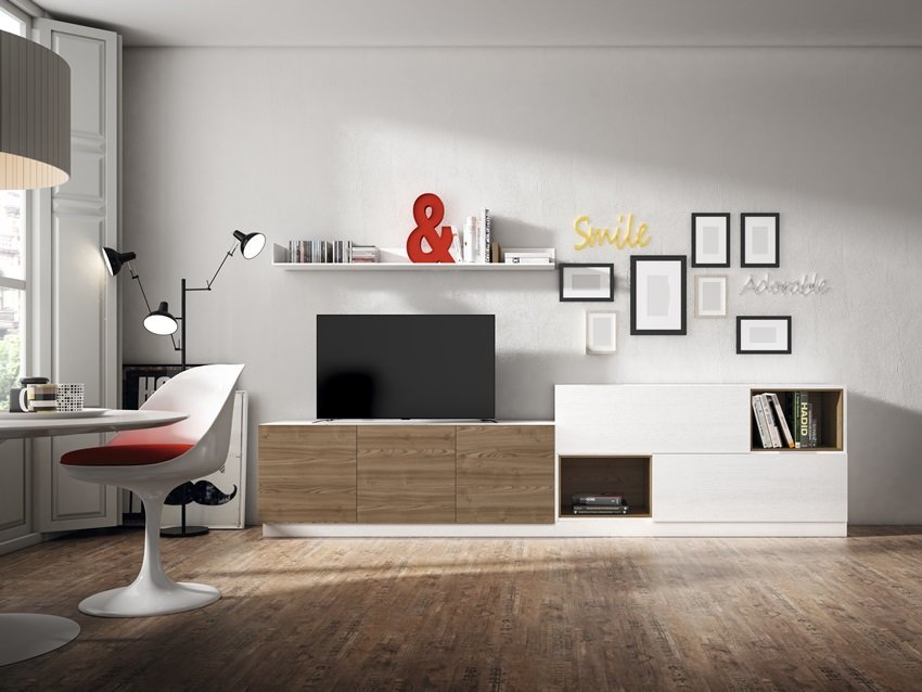 Composici n sal n 33 gonz lez muebles - Muebles banak outlet ...