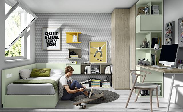 Dormitorio juvenil 07 gonz lez muebles - Muebles banak outlet ...