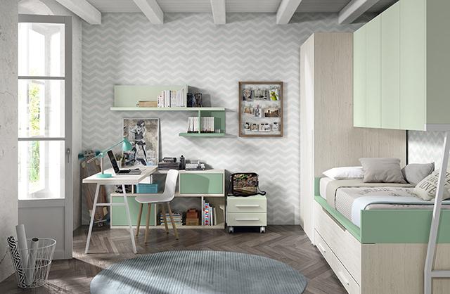 Dormitorio juvenil 16